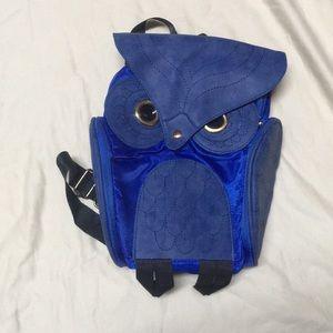 Handbags - Adorable blue owl backpack